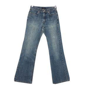 J. Crew Wide Leg Denim Jeans size 2